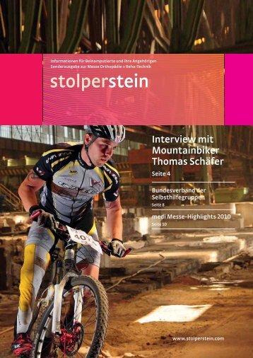 medi Orthopädie - Stolperstein
