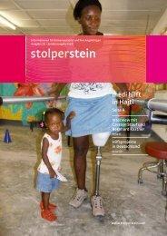 medi hilft in Haiti - Stolperstein