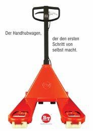 Handhubwagen Pro Lifter - Toyota Material Handling Deutschland