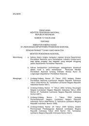 salinan peraturan menteri pendidikan nasional republik indonesia ...