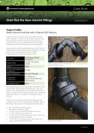 Gemini Fittings Case Study - Franklin Fueling Systems