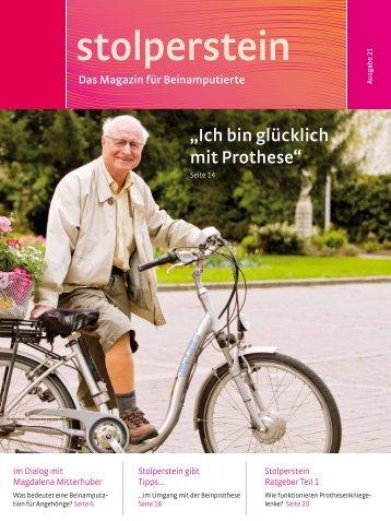 """Die """"Gebrauchsanleitung"""" für Prothesen - Stolperstein"""