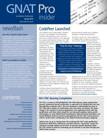 Spring-Summer 2010 Download pdf » 203 KB
