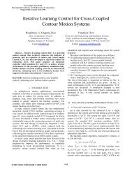 Iterative Learning Control for Cross-Coupled Contour Motion Systems
