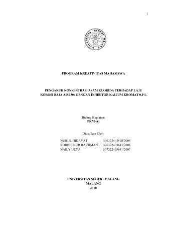 PDF: PKM-AI-10-Nurul-Pengaruh Konsentrasi Asam