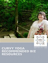 CURVY YOGA RECOMMENDED BIZ RESOURCES