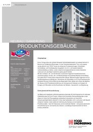 PRODUKTIONSGEBÄUDE - IE Engineering Group AG
