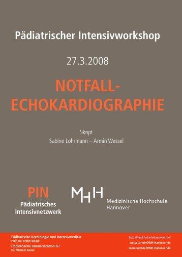 NOTFALL- ECHOKARDIOGRAPHIE