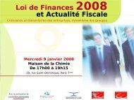 Diapositive 1 - Ordre des experts-comptables de Paris Ile-de-France