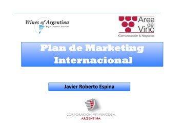 Plan de Marketing Internacional - Wines Of Argentina