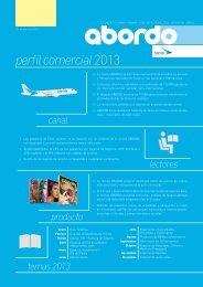 perfil comercial 2013 - Abordo.com.ec