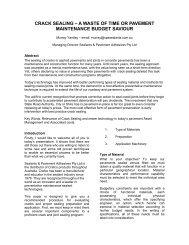 crack sealing - Australian Asphalt Pavement Association