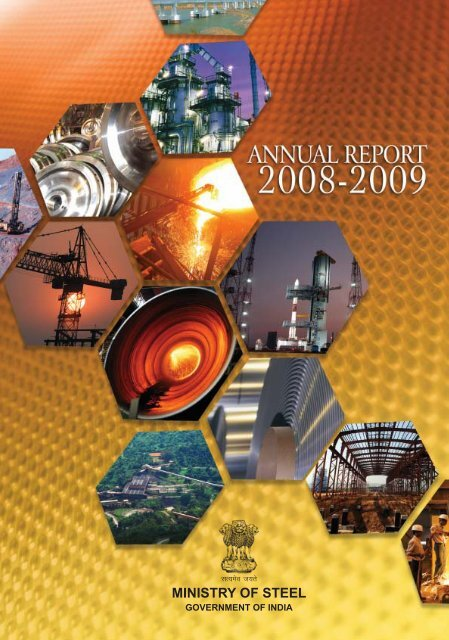 Annual Report 2008-09 - Ministry of Steel