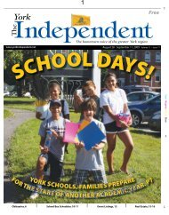 August 28 - September 10, 2009 - The York Independent