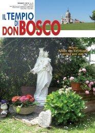 Maria Aiuto dei Cristiani, prega per noi. - Colle Don Bosco