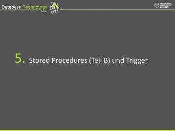 Trigger - Datenbanken
