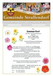 Sommerfest - Strullendorf