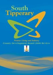 Read the CDB 2009 Annual Review - South Tipperary County ...