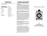 Elem Stand Based ROSP Brochure - Natick Public Schools