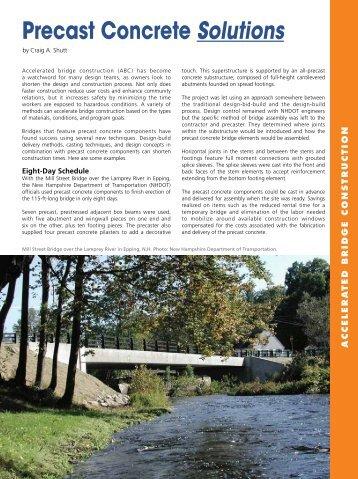 Accelerated Bridge Construction - Aspire - The Concrete Bridge ...