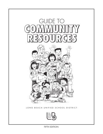 Guide to Community Resources - Long Beach Unified School District