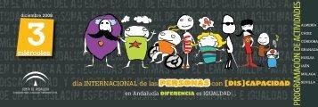 Descarga la Programación del Día Internacional de Personas con ...