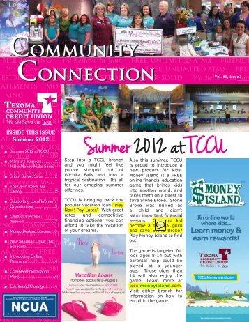 Summer 2012 - Texoma Community Credit Union