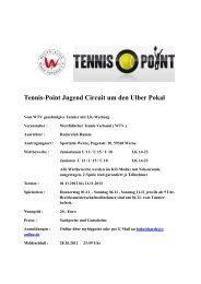 Tennis-Point Jugend Circuit um den Ulber Pokal