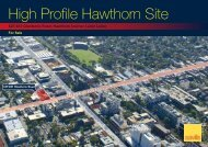 High Profile Hawthorn Site - Domain