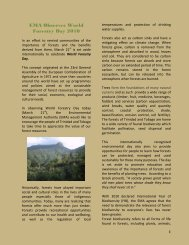 World Forestry Day - Environmental Management Authority