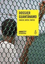 Dossier Guantànamo, 17 Seiten - Amnesty International Schweiz