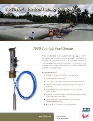 TacFuels Fuel Gauge Brochure - SEI Industries Ltd.