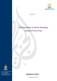 Report Buying Peace in Syria: Drawing Lessons From Iraq