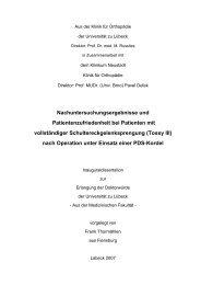 Tossy III - Universität zu Lübeck
