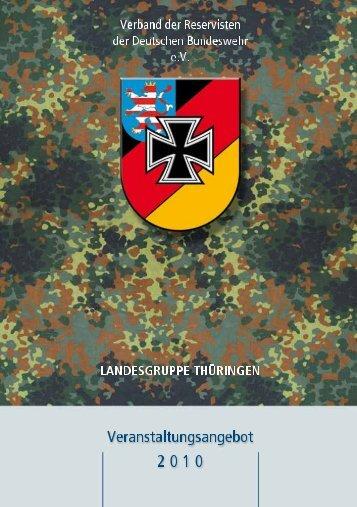 Thüringenplaner 2010 ( PDF , 2,1 MB) - Bundeswehr
