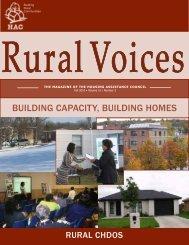 Building Capacity, Building Homes - Housing Assistance Council