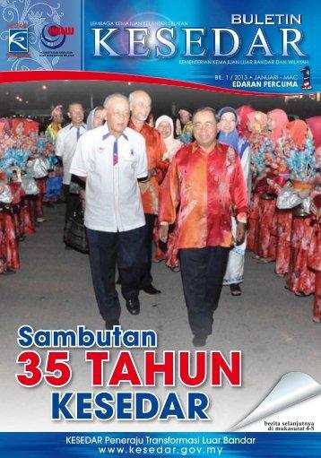 Sambutan - Laman Web Rasmi Lembaga Kemajuan Kelantan Selatan