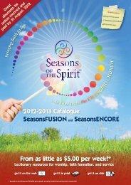 2012-2013 Catalogue SeasonsFUSIONand ... - MediaCom