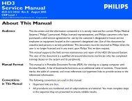 HD3 Service Manual (Customer Version) - Frank's Hospital Workshop