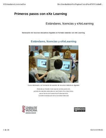 Primeros pasos con eXe Learning - Escuelas San José