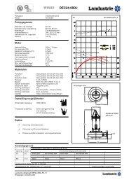 Datasheets DEC serie - Landustrie