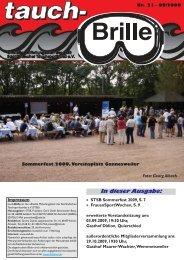 tauch-Brille Nr. 21 September 2009 - STSB
