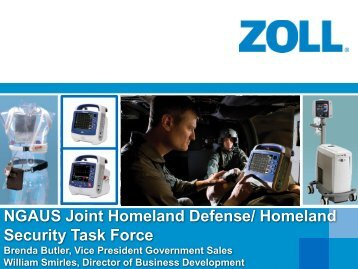 ZOLL Medical Corporation - National Guard Association of the U.S.
