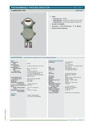 Catalog - Radix Process Instrumentation