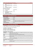 CSR Gyprock™ Wet Area Acrylic Sealant MSDS - Page 4
