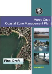 Manly Cove Coastal Zone Management Plan January ... - Manly LEP