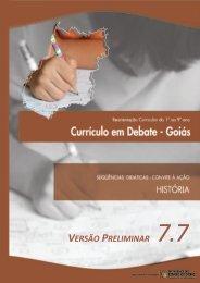 Novos temas no ensino de História - Secretaria da Educação
