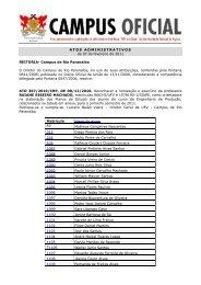 Atos Administrativos 07.02.2011 - DTI- Diretoria de Tecnologia da ...