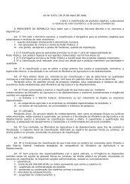 LEI Nº 9.972, DE 25 DE MAIO DE 2000. Institui a classificação ... - Abic