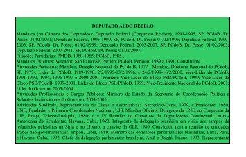 Deputado Federal (Congresso Revisor), 1991-1995, SP, PCdoB. Dt ...